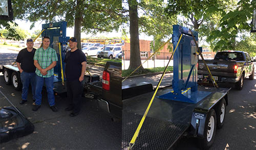 orange MA Fire get a forcible entry door simulator from firehouse innovations corp.