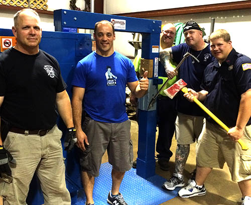 Rockaway NJ Fire Department Forcible Entry Training - Firehouse Innovations Corp.