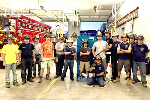 Stony Hill Fire Department in Bethel Connecticut get Forcible Entry Simulator Prop