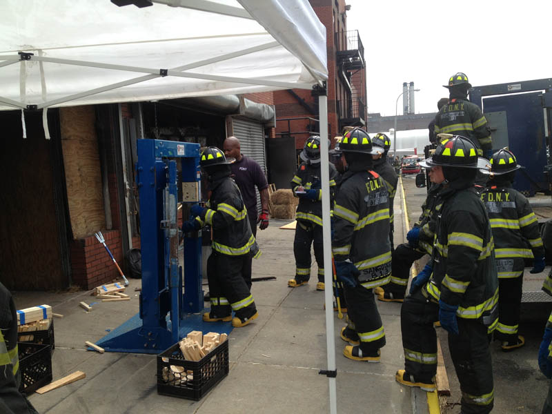 Firehouse Innovations Corp The Multi Force Forcible Entry Door System Training Offered