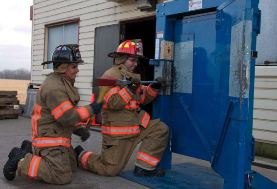 Firehouse Innovations Corp The Multi Force Forcible Entry Door System Press